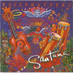 (CD) Santana ‎– Supernatural