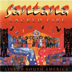 (CD) Santana - Sacred Fire:...